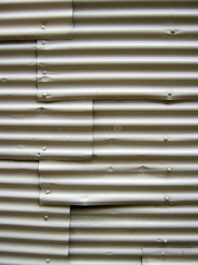 Corrugated metal stock photos