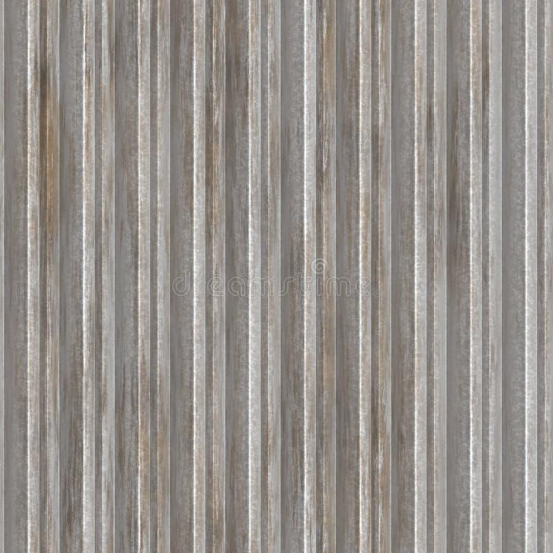 Download Corrugated metal stock illustration. Image of corrosion - 6055647