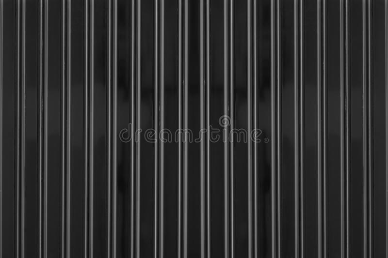 Corrugated Metal Background And Texture Surface Stock