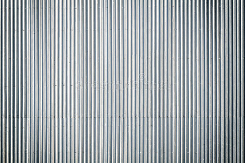 Corrugated Metal Roof Industrial Background Or Texture