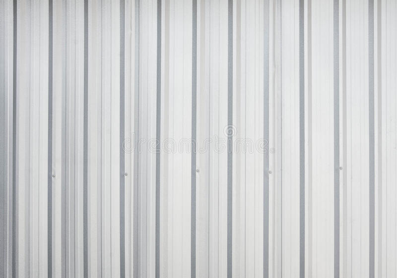 Corrugated Metal Sheet Texture Surface Stock Photo Image