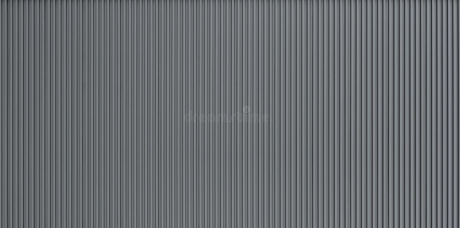 Corrugated metal wall texture stock photography
