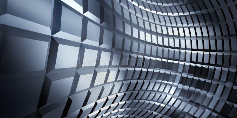 Download Corrugated Sheet Metal, Reflecting Light Stock Illustration - Image: 11022638