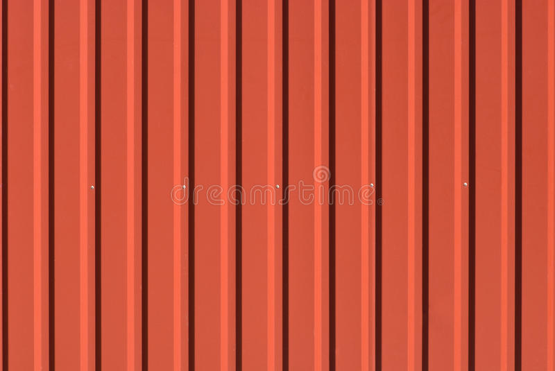 Corrugated Steel Sheet Useful As A Background Stock Photo