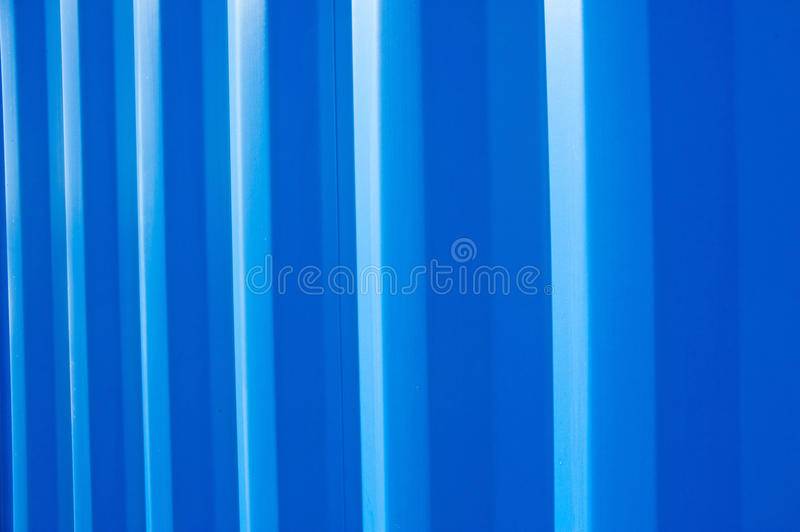 Corrugated storage unit stock image