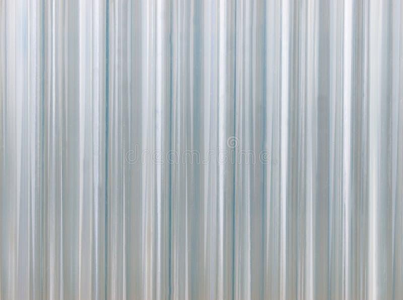 Corrugated transparent plastic texture stock photo image