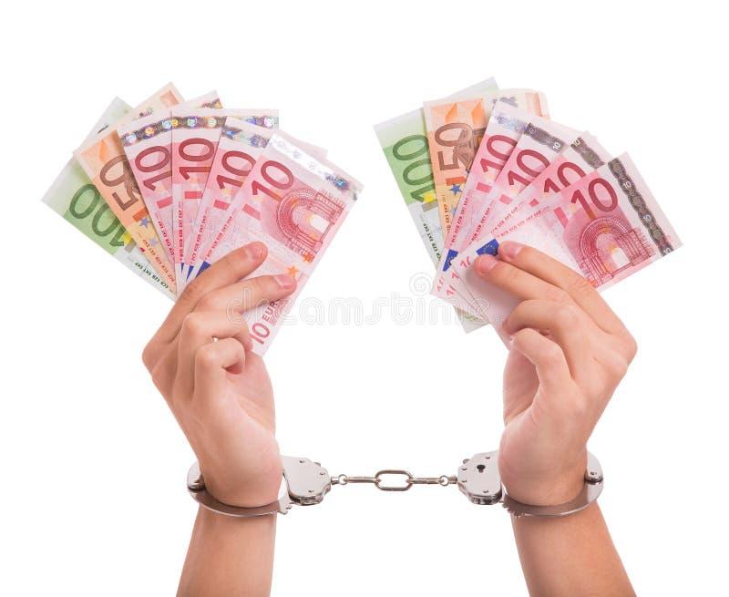 Corruption Photographie stock libre de droits