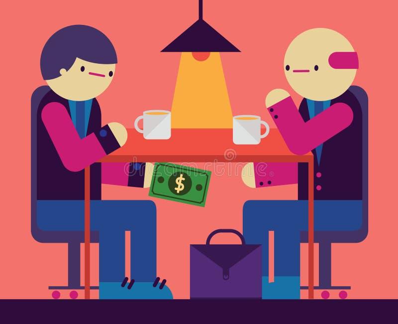 corruption illustration libre de droits