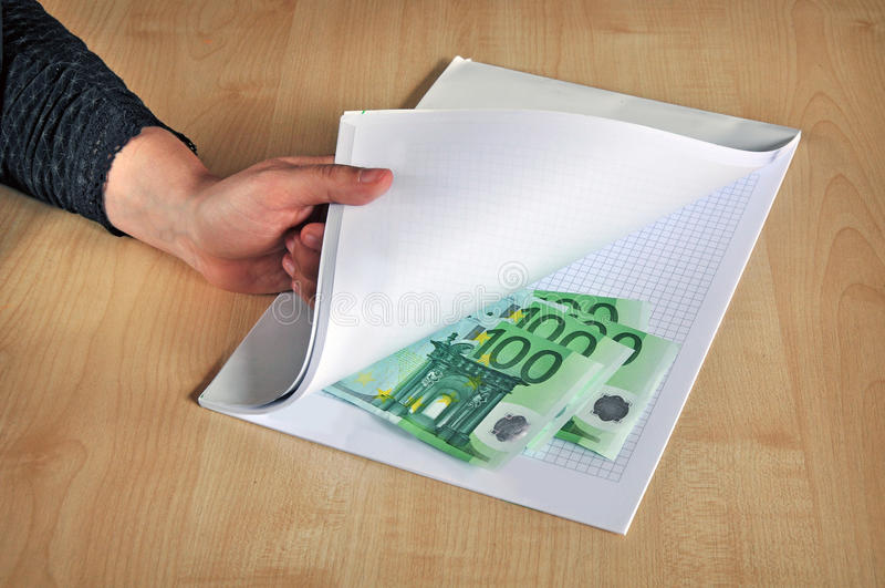 Corruption corrupting bribe royalty free stock image