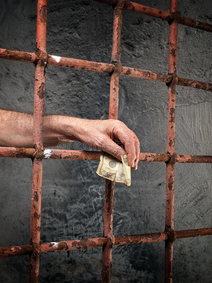 Corruption De Prison Image libre de droits