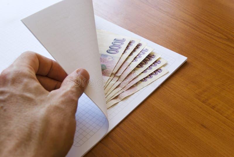 Corruption money royalty free stock images