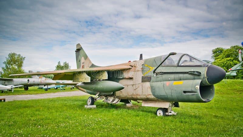 Corsário de Vought A-7P II imagens de stock royalty free