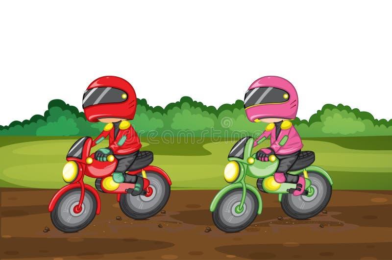 Corsa illustrazione di stock