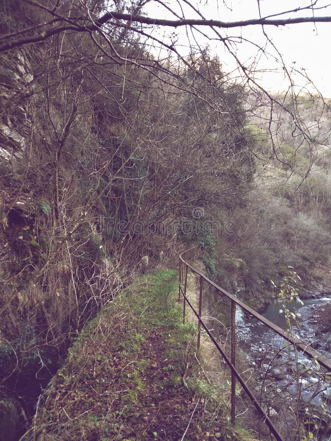 Corsa acquedotto romana fotografie stock libere da diritti