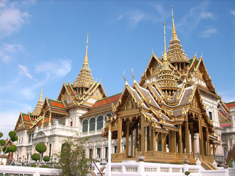 Corsa asiatica il tempiale tailandese immagini stock libere da diritti