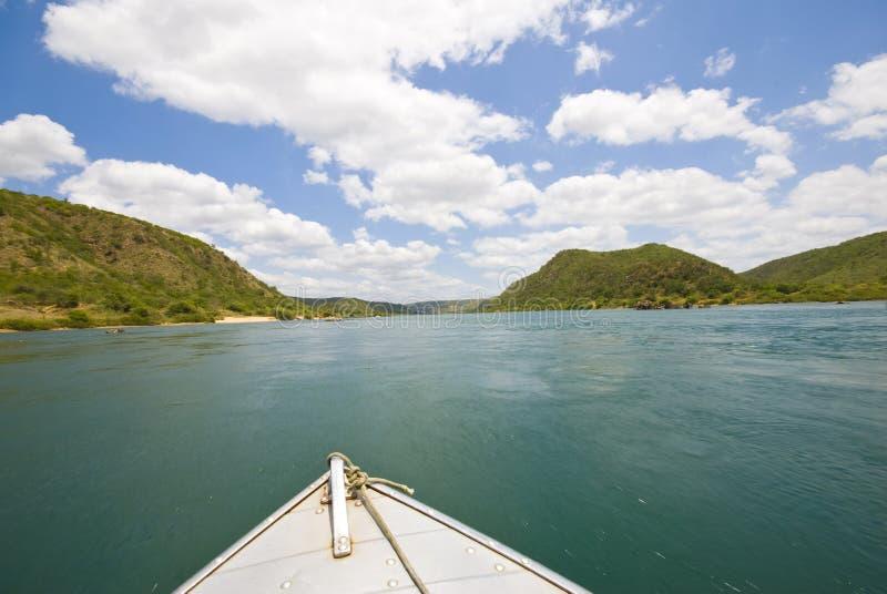 Corsa in barca fotografia stock libera da diritti