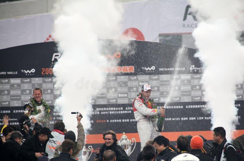 Corsa Dei Campioni 2009 Fotografia Editoriale