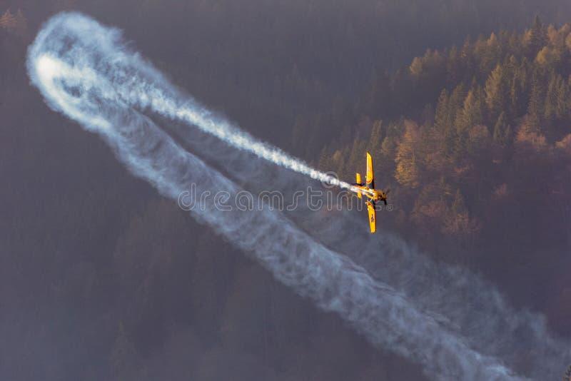 Corsa dell'aria di Red Bull fotografia stock