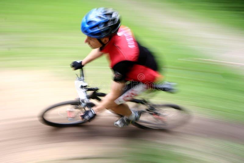 Corsa della bici immagine stock