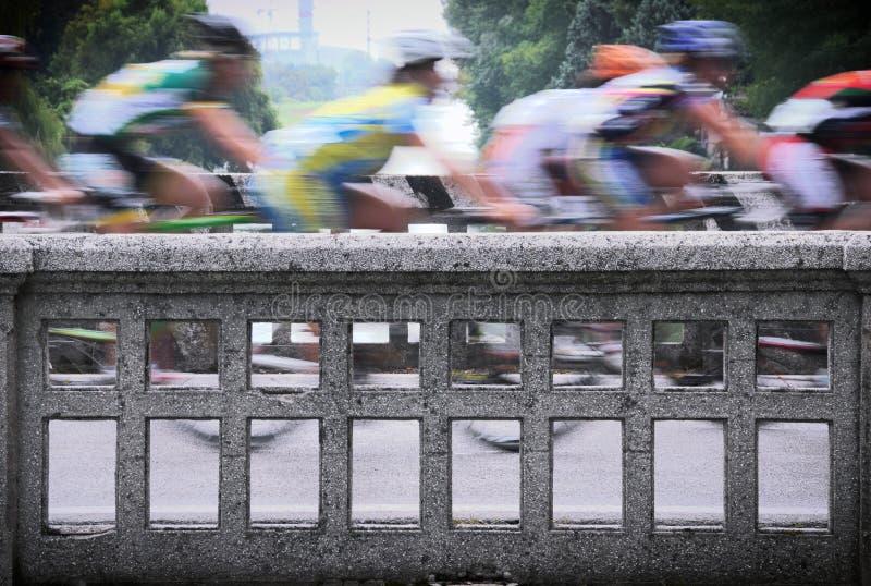 Corsa della bici fotografia stock libera da diritti