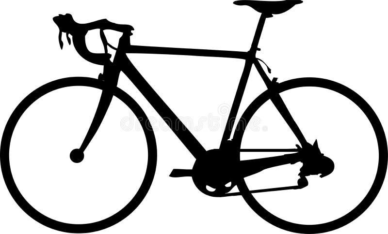 Corsa della bici illustrazione di stock