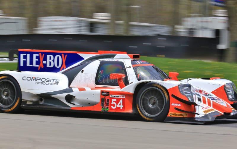 Corsa di Autosport ORECA LMP2 del CENTRO pro immagine stock libera da diritti