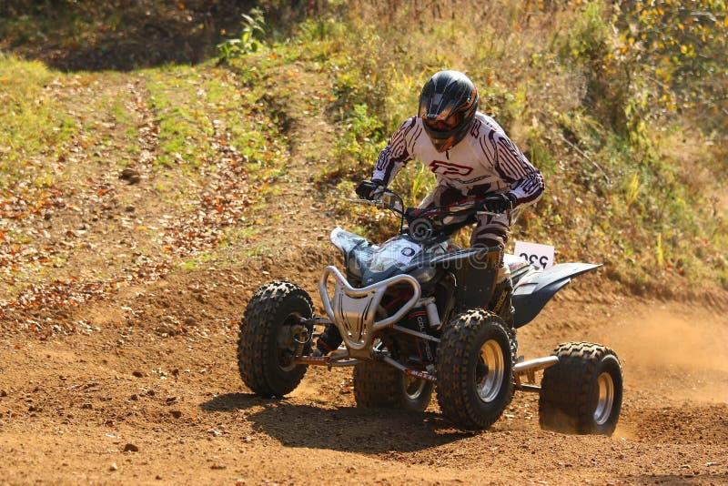 Corsa di motocross fotografie stock libere da diritti