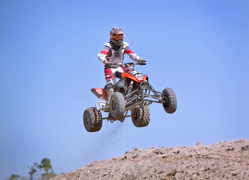 Corsa di motocross immagini stock libere da diritti