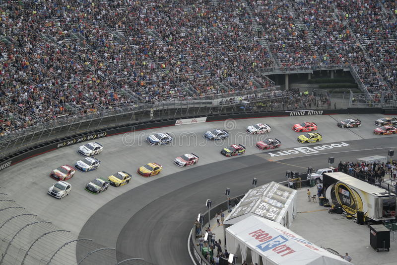 Corsa di NASCAR fotografia stock
