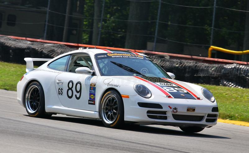 Corsa di Porsche immagine stock libera da diritti