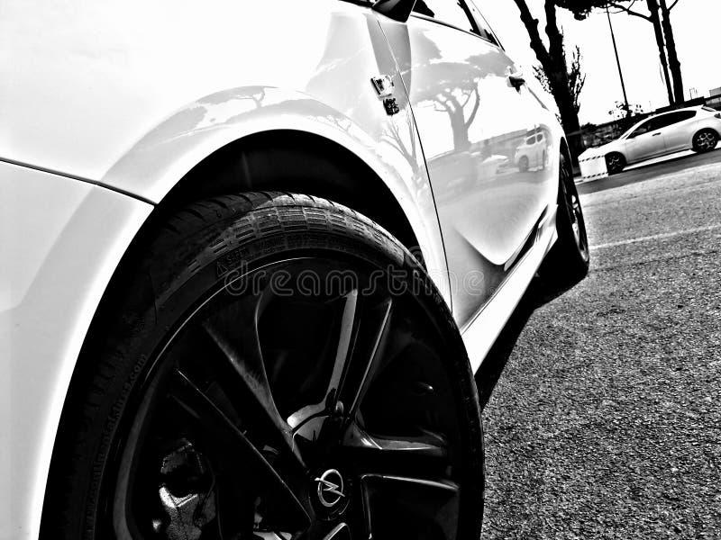 Corsa e de Opel foto de archivo libre de regalías