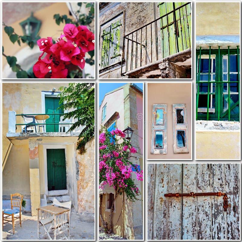 Corsa in Grecia fotografia stock libera da diritti