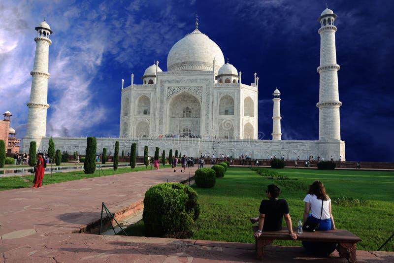 Corsa India fotografia stock