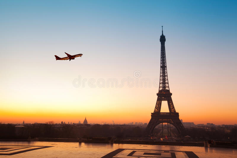 Corsa a Parigi fotografia stock