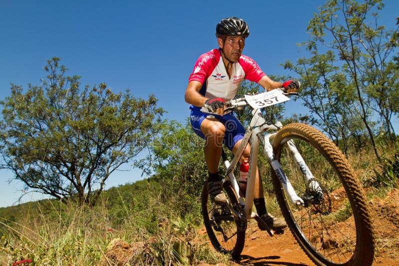 Corsa provinciale centrale di Gauteng intorno a 1 fotografia stock libera da diritti