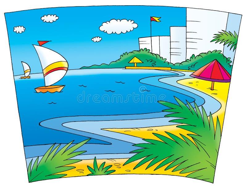 Corsa Wedding 006 illustrazione di stock