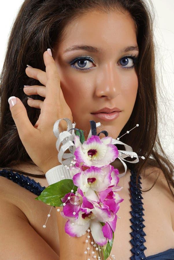 corsage royaltyfria foton