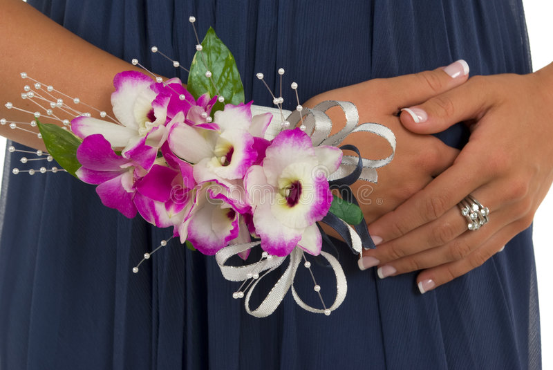 corsage royaltyfri fotografi