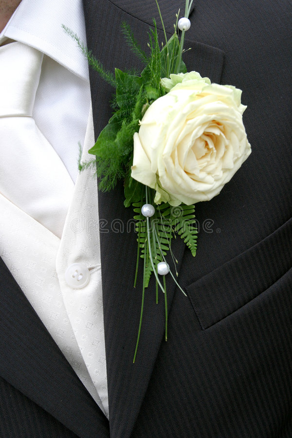 Corsage photo stock
