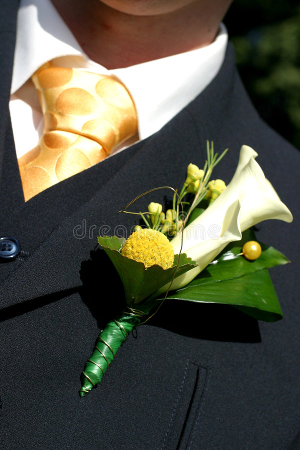 Corsage stock photography