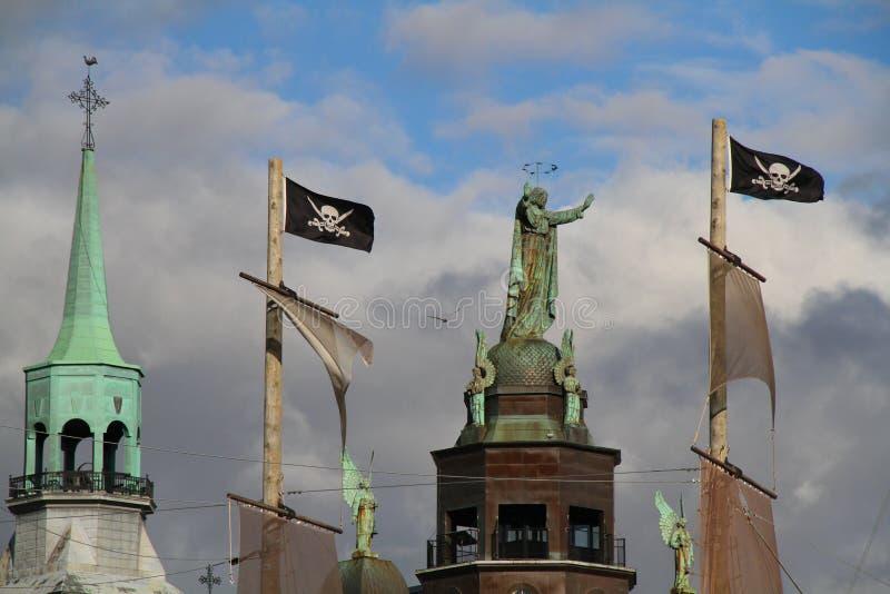 Corsair przyjeżdża w Montreal obrazy royalty free