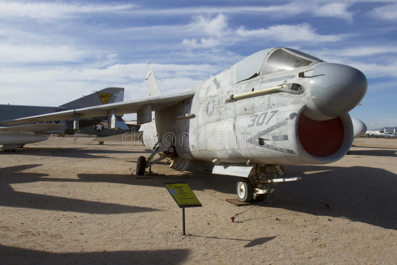 Corsaire de Vought A-7E II image libre de droits