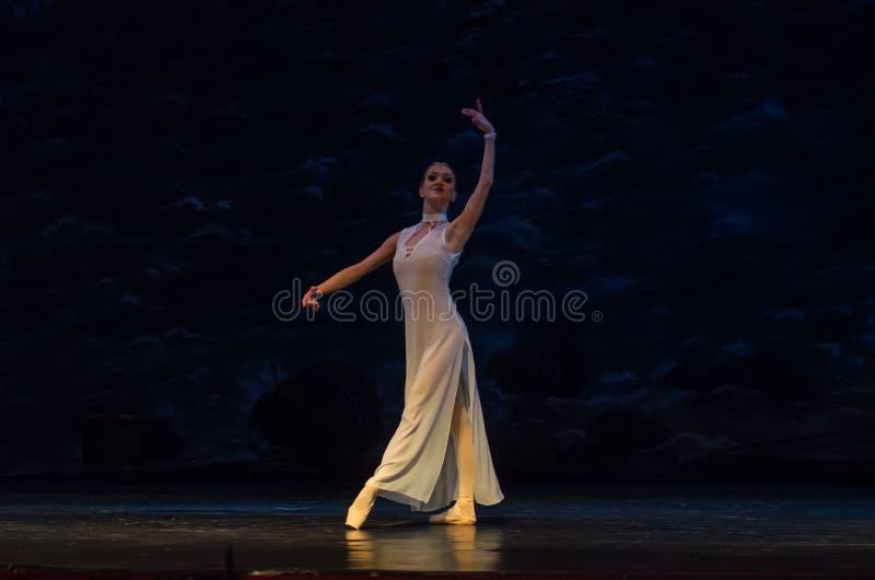 Corsario del ballet clásico fotografía de archivo