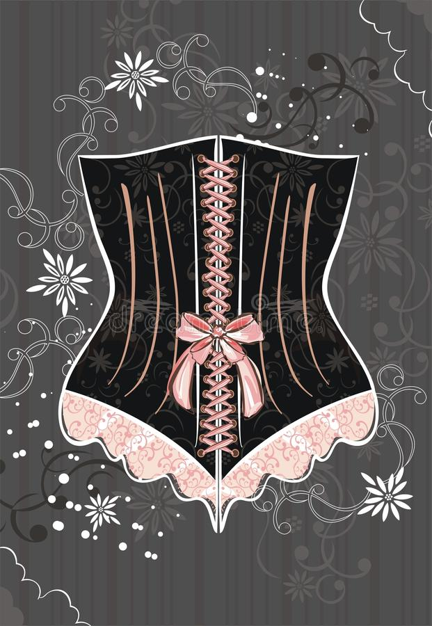 Download Corset stock vector. Illustration of tailor, chic, elegant - 13250349