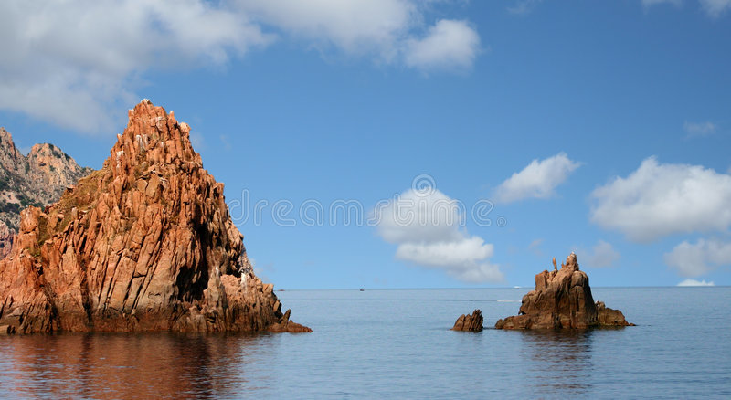 CORSICA royalty free stock image