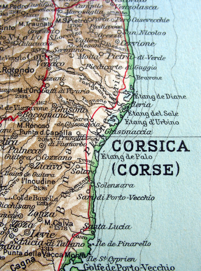 Download Corsica stock image. Image of corse, harbour, road, page - 2150909