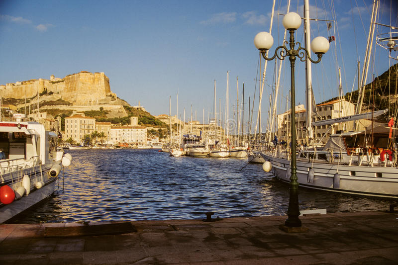 corsica Bonifacio obrazy royalty free
