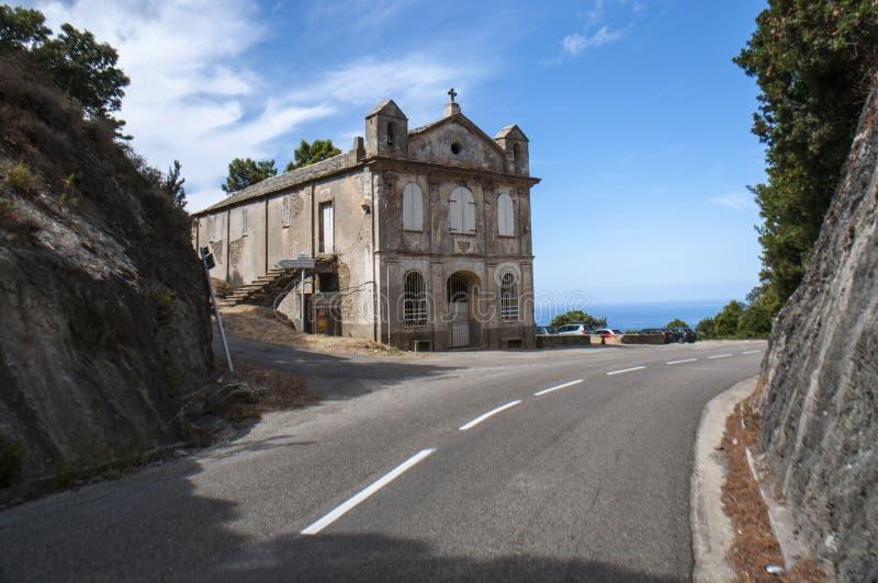 Corsica, Corse, Cap Corse, Hogere Corse, Frankrijk, Europa, eiland royalty-vrije stock fotografie