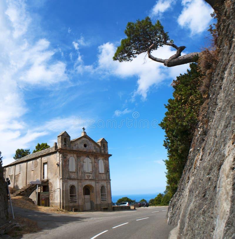 Corsica, Corse, Cap Corse, Hogere Corse, Frankrijk, Europa, eiland royalty-vrije stock foto