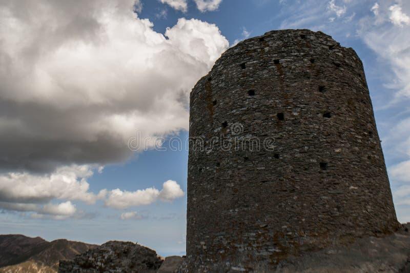 Corsica, Corse, Cap Corse, Hogere Corse, Frankrijk, Europa, eiland stock fotografie